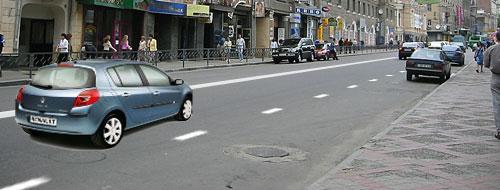 Тема 15.1. Нарушение правил расположения транспортного средства на проезжей части. 06