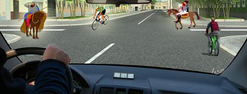 Тема 18. Непредоставление преимущества в движении пешеходам или иным участникам дорожного движения. 04