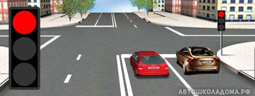 Правила для пешеходов на све светофора