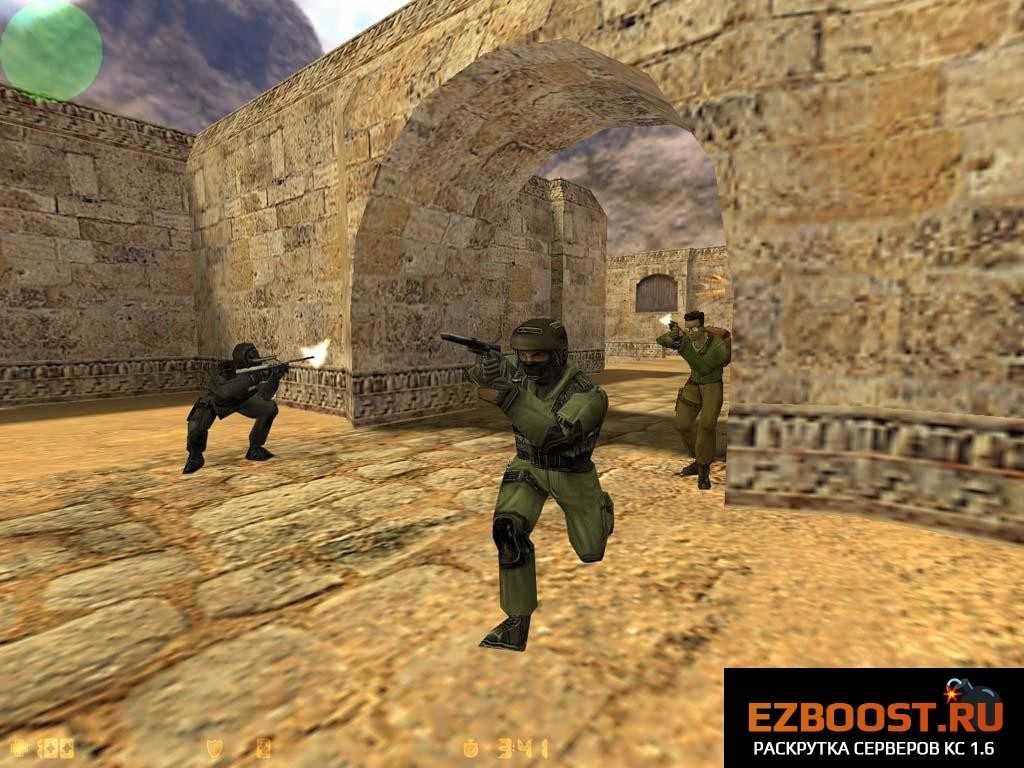 Популярный шутер Counter-Strike 1.6 оригинал - все еще актуален! 5-2011822