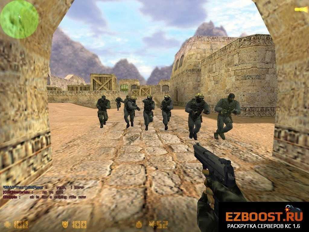 Популярный шутер Counter-Strike 1.6 оригинал - все еще актуален! cs-1.6-download-police-team-4609520