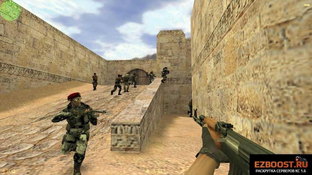 Популярный шутер Counter-Strike 1.6 оригинал - все еще актуален! steam3-9258072