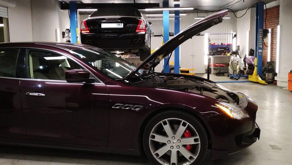 Maserati Ghibli: ремонт, сервис, реставрация Maserati-service-min-1024x581