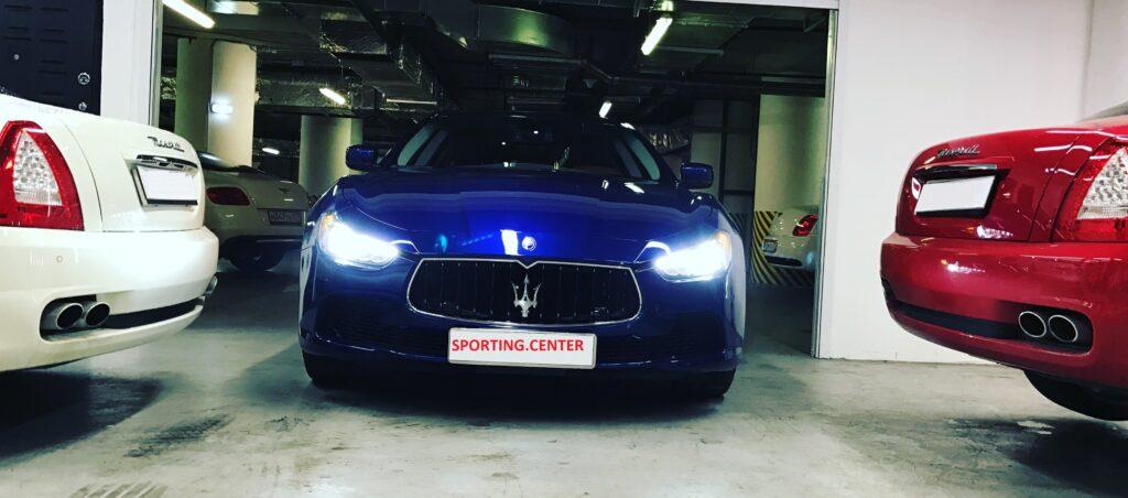 Maserati Ghibli: ремонт, сервис, реставрация